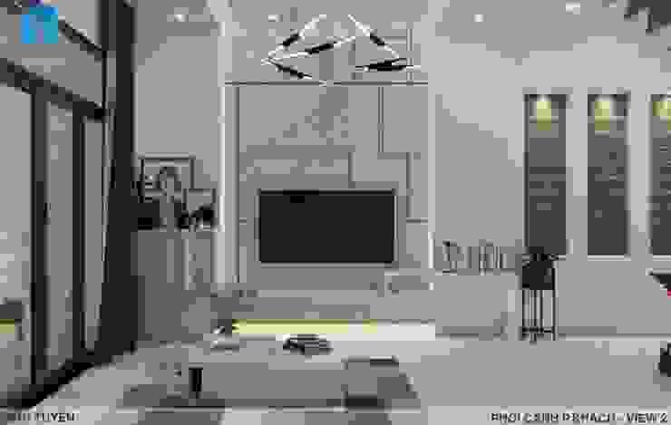 Thiết kế nội thất trọn gói nhà phố 3 thế hệ – 3 phòng ngủ (Anh Tuyền – Q.12) bởi Công ty TNHH Nội Thất Mạnh Hệ Hiện đại