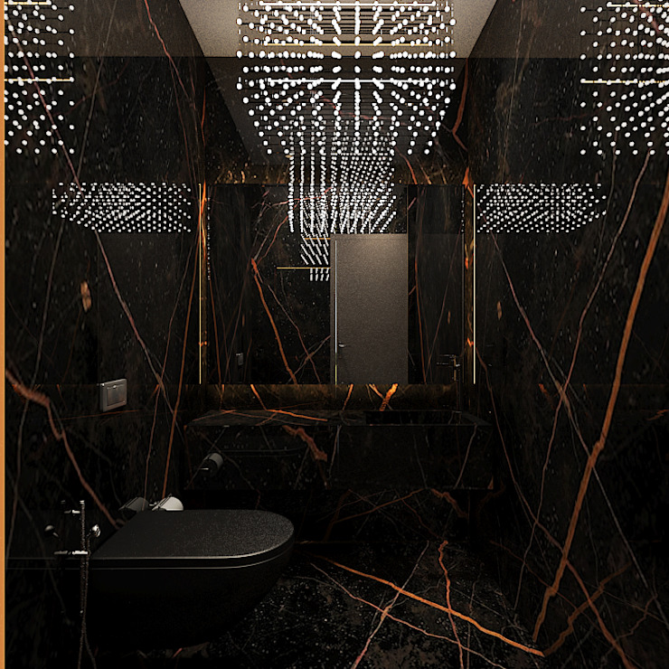 Powder room Modern bathroom by Ashleys Modern