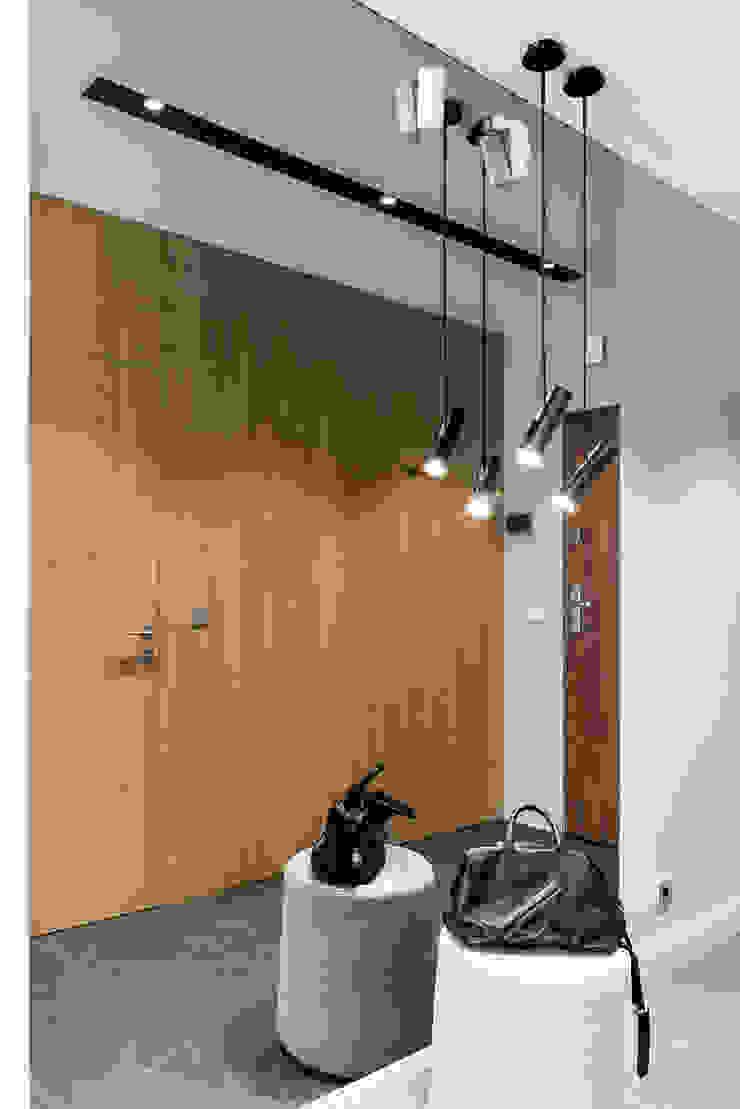 Anna Serafin Architektura Wnętrz 現代風玄關、走廊與階梯