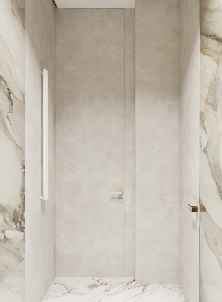 Y.F.architects Minimalist style bathroom