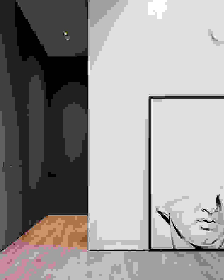 Y.F.architects Minimalist bedroom