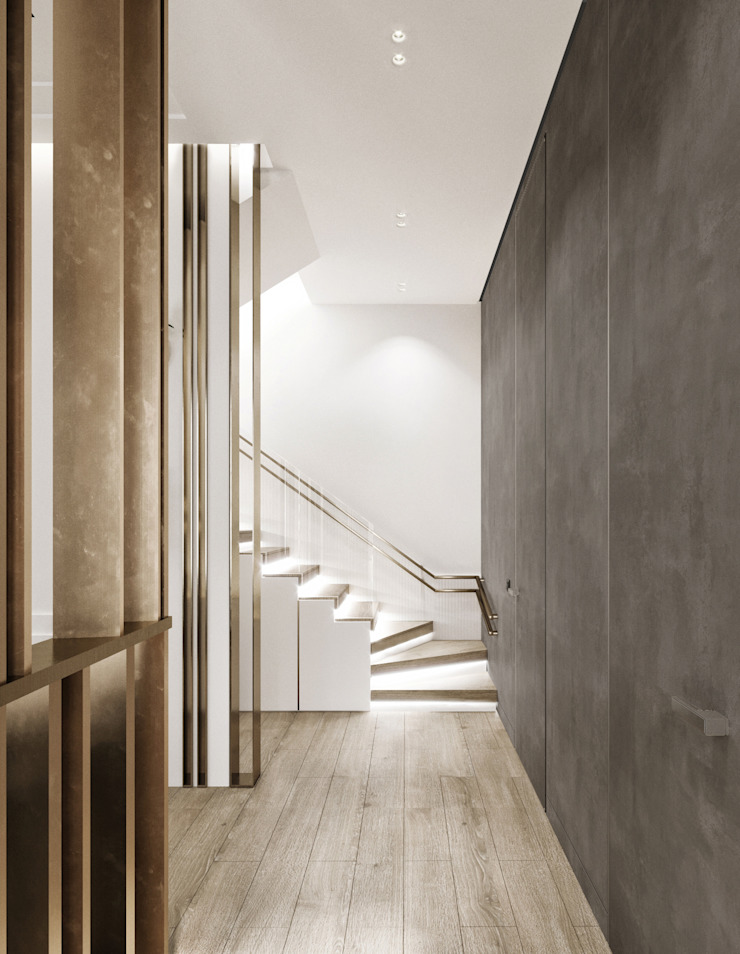 Y.F.architects Stairs