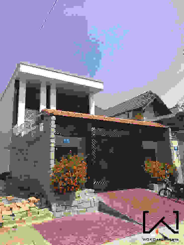 Mặt tiền công trình bởi Woko Architect