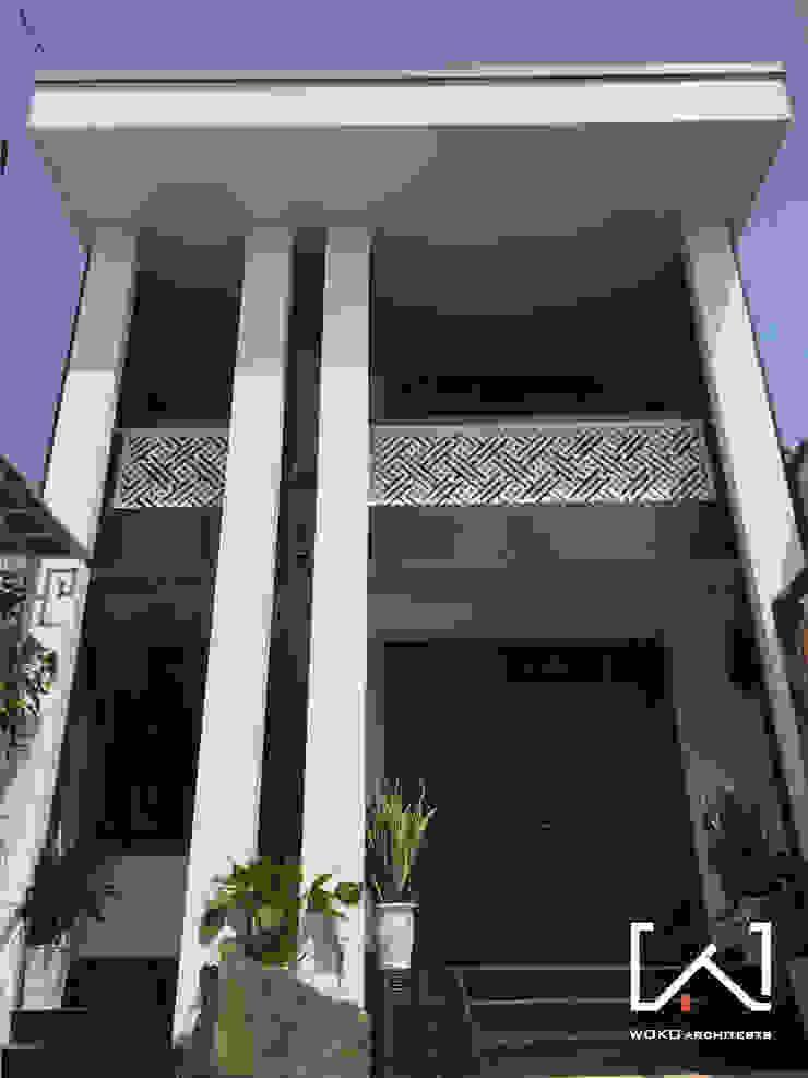 Mặt tiền công trình 2 bởi Woko Architect