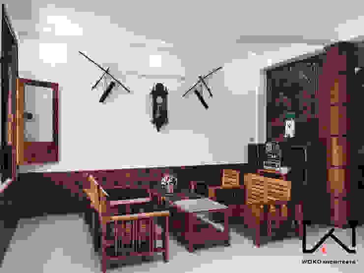 Phòng khách bởi Woko Architect