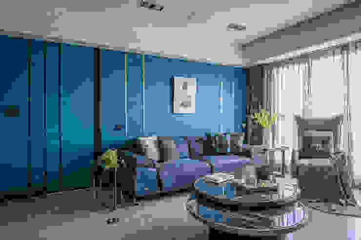 輕奢風格 根據 歐居室內設計有限公司 隨意取材風