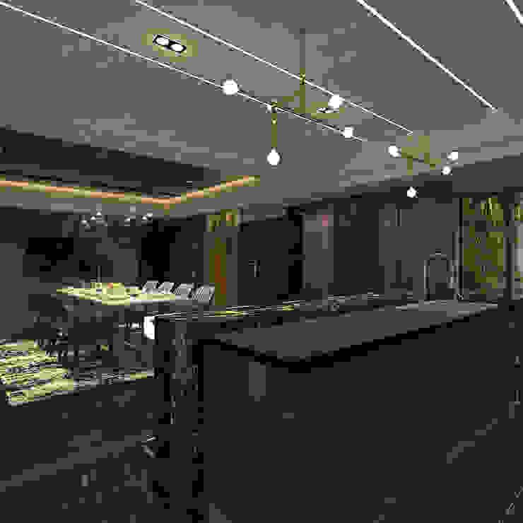 現代奢華風格 根據 歐居室內設計有限公司 現代風