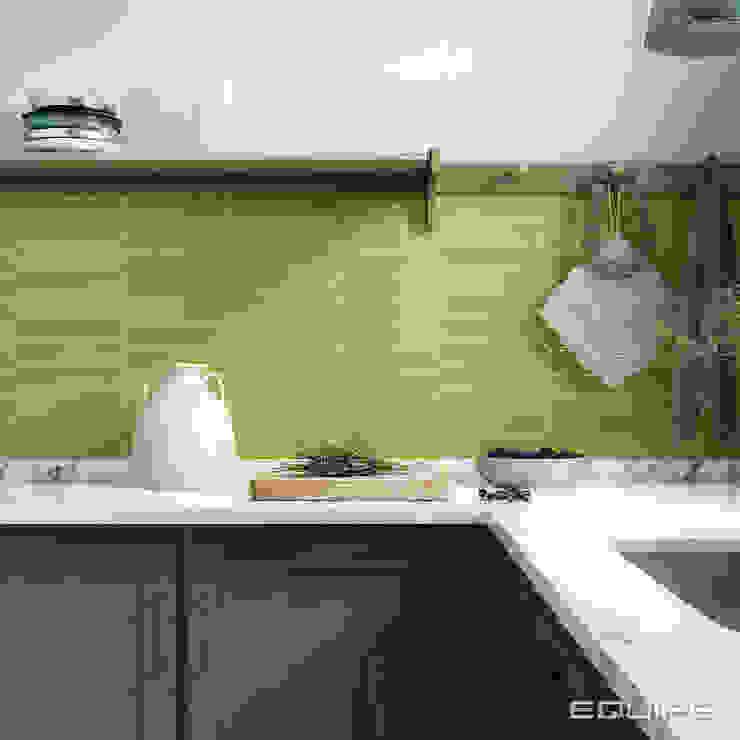 Equipe Ceramicas Dapur Modern Ubin Green