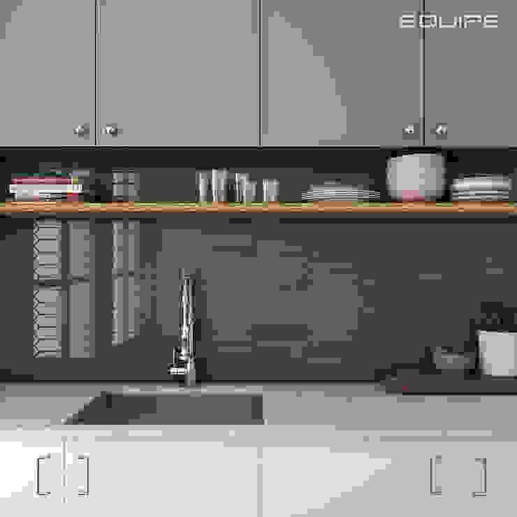 Equipe Ceramicas Dapur Modern Ubin Blue
