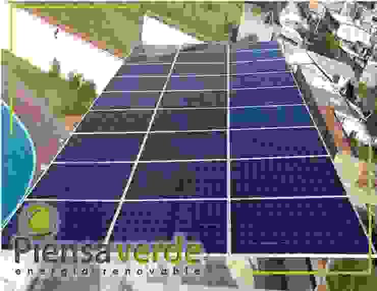 Piensa Verde México, Querétaro, Cancún Roof terrace Metal Metallic/Silver