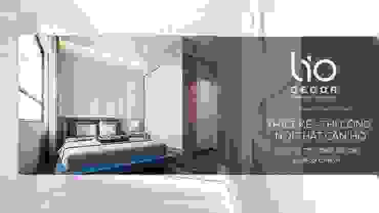 Thiết kế nội thất chung cư, biệt thự: hiện đại  by Lio Decor, Hiện đại MDF