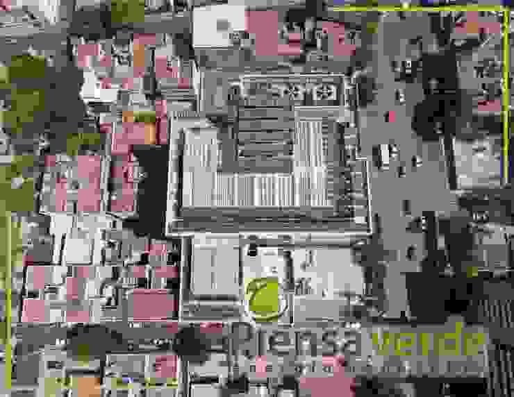 Piensa Verde México, Querétaro, Cancún Тераса на даху Метал Металевий / срібло