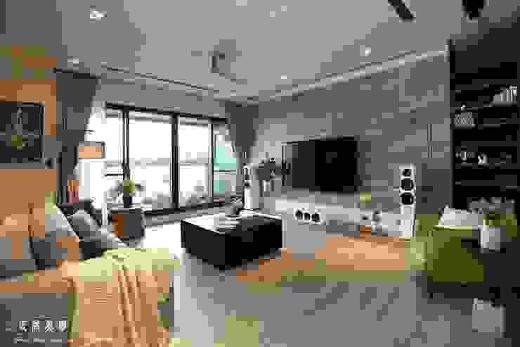 傲視品味 大器客廳 根據 匠將室內裝修設計股份有限公司 工業風 大理石