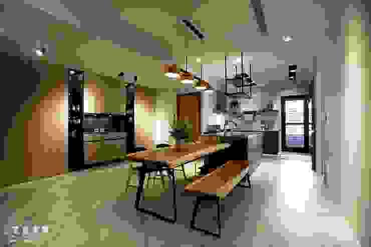烹飪趣 x 品生活 根據 匠將室內裝修設計股份有限公司 工業風