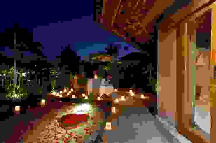 WaB - Wimba anenggata architects Bali Eclectic style hotels Wood Wood effect