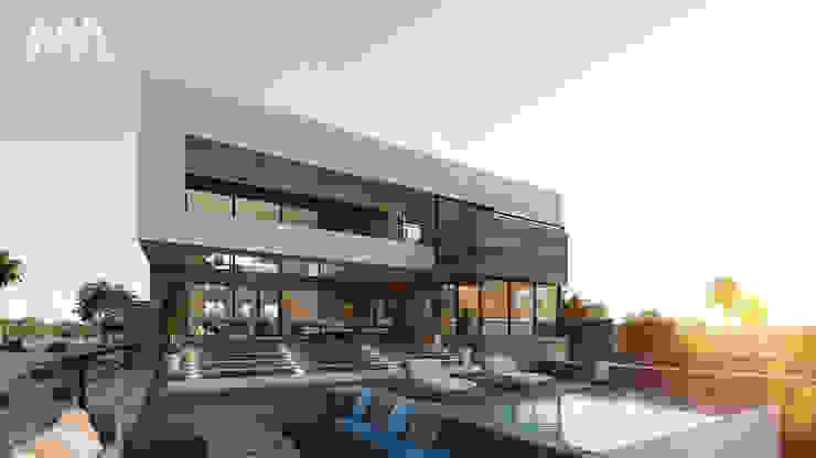 Fachada Playa Casas modernas de Merarki Arquitectos Moderno