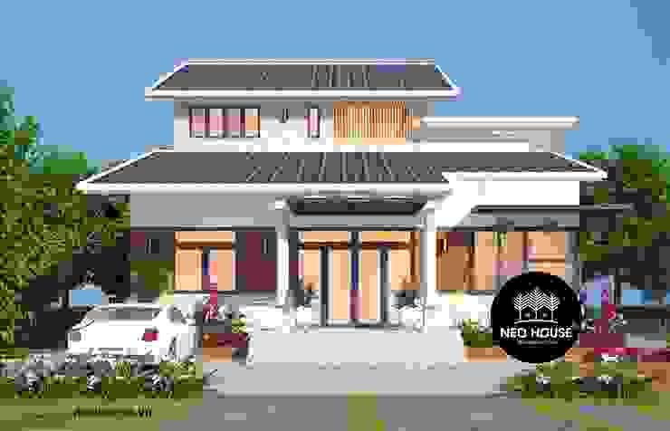Mẫu thiết kế biệt thự vườn 1 tầng hiện đại tại Bình Phước bởi NEOHouse