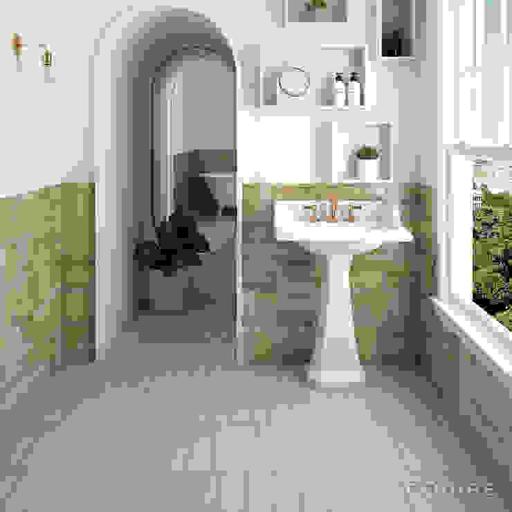 Salle de bain classique par Equipe Ceramicas Classique Tuiles