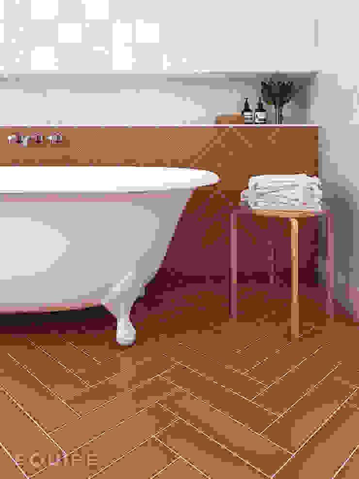 Salle de bain méditerranéenne par Equipe Ceramicas Méditerranéen Tuiles