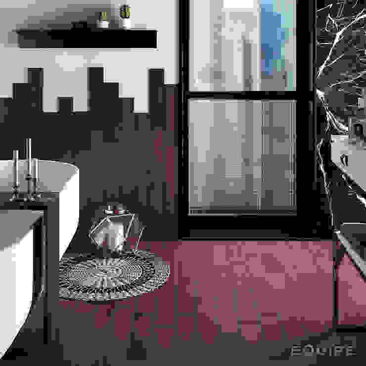 Salle de bain originale par Equipe Ceramicas Éclectique Tuiles