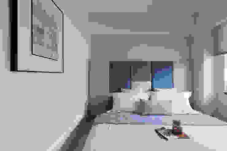 Scandinavian style bedroom by 知域設計 Scandinavian