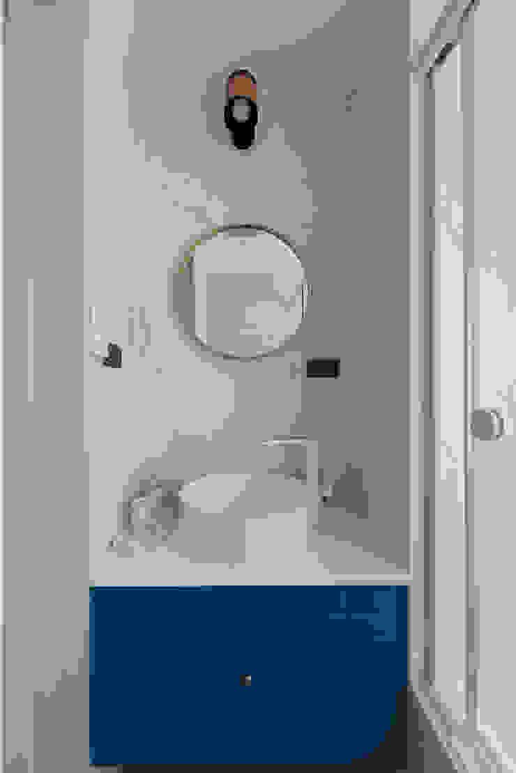 Scandinavian style bathroom by 知域設計 Scandinavian