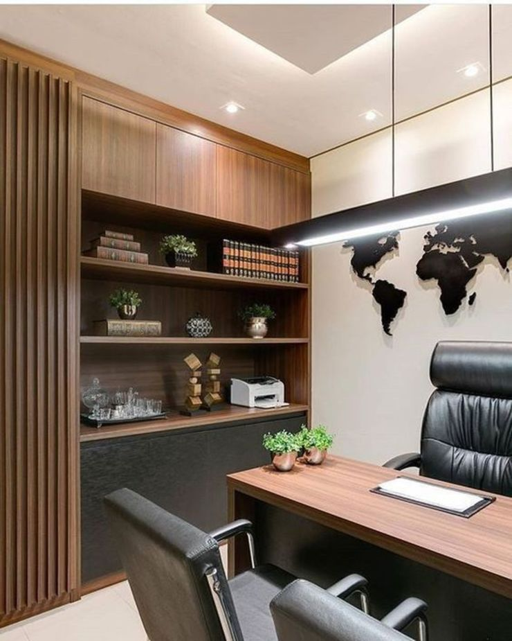 Commercial Director Cabin by Square Arc Interior Modern