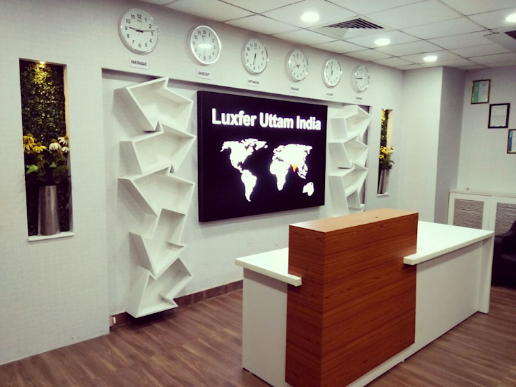 Luxfer Uttam Group by Square Arc Interior Industrial