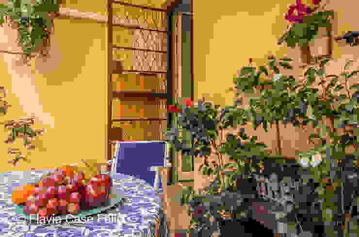 Balcon, Veranda & Terrasse modernes par Flavia Case Felici Moderne