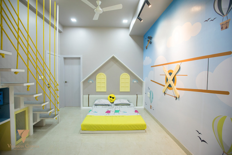 Kids Room Modern style bedroom by Vishakha Chawla Interiors Modern