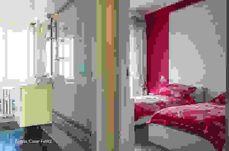 Pasillos, vestíbulos y escaleras modernos de Flavia Case Felici Moderno