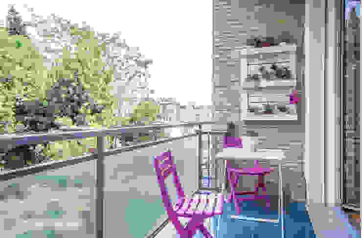 Balcones y terrazas modernos: Ideas, imágenes y decoración de Flavia Case Felici Moderno