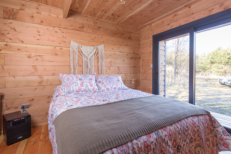 casa rural - Arquitectos en Coyhaique Small bedroom