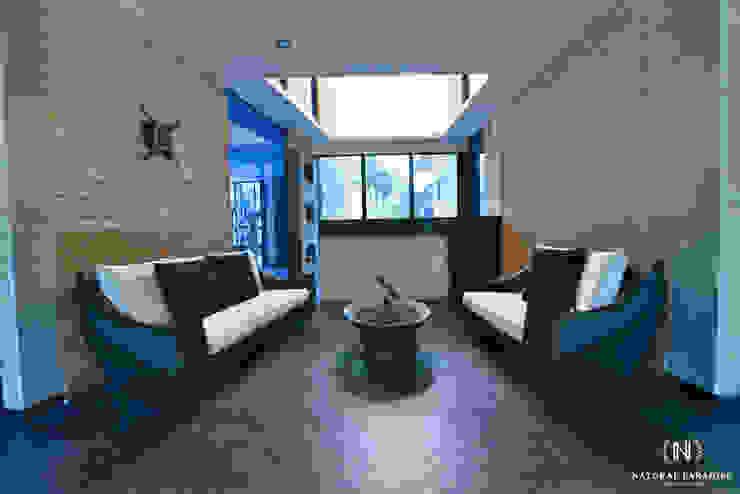 RECEPCION NATURAL PARADISE HOTEL BOUTIQUE de C&P ARQUITECTURA, DISEÑO Y CONSTRUCCION S.A.S Moderno