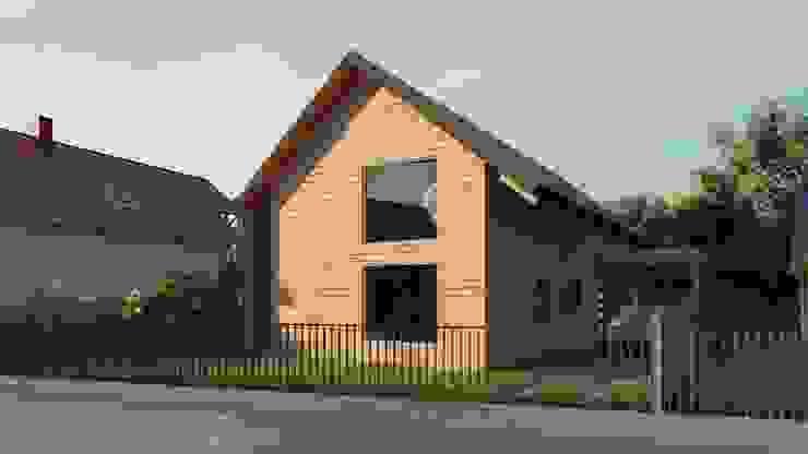 Casa SA Casas estilo moderno: ideas, arquitectura e imágenes de Soc. Constructora Cavent Spa Moderno