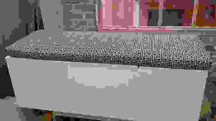 por Mulizh Decor Studio Moderno Madeira Acabamento em madeira