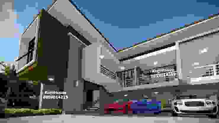 รับออกแบบโรงแรมยกพื้นสูง โดยทีมงานมืออาชีพ โดย กรอาร์ช ดีไซน์ / KornArch Design โมเดิร์น คอนกรีต