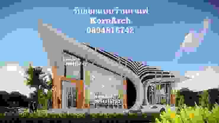 รับออกแบบร้านกาแฟ, รับออกแบบร้านอาหาร โดยทีมงานมืออาชีพ โดย กรอาร์ช ดีไซน์ / KornArch Design โมเดิร์น คอนกรีต