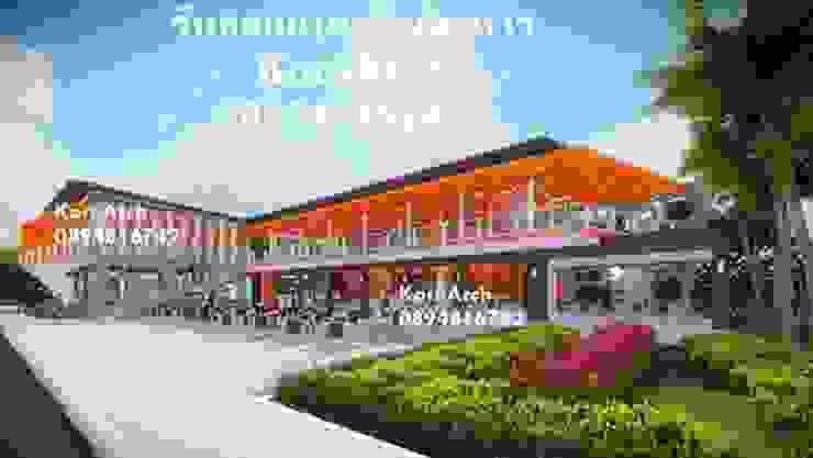 รับออกแบบร้านอาหาร, รับออกแบบร้านค้า โดยทีมงานมืออาชีพ โดย กรอาร์ช ดีไซน์ / KornArch Design โมเดิร์น คอนกรีต
