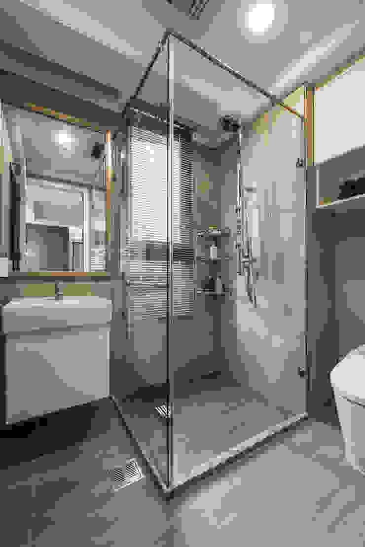 浴室 根據 你你空間設計 古典風 玻璃