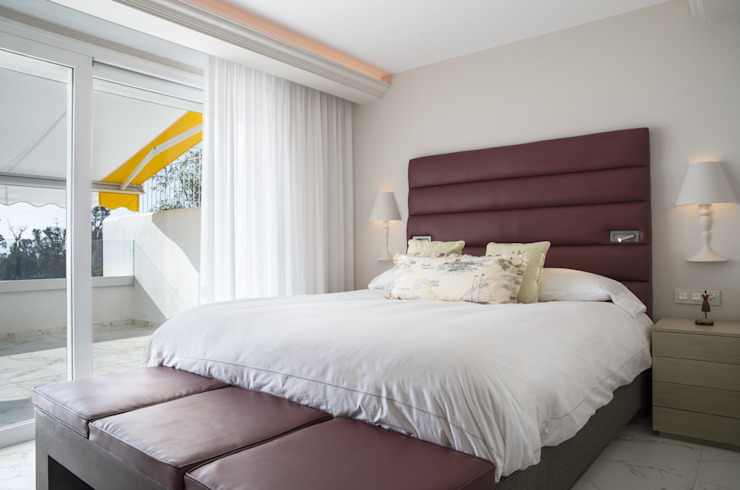 Reforma integral de vivienda exclusiva Dormitorios de estilo moderno de Ceyeme Moderno