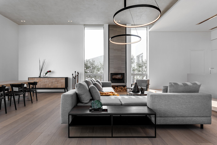 D 13 GSQUARED architects Living room