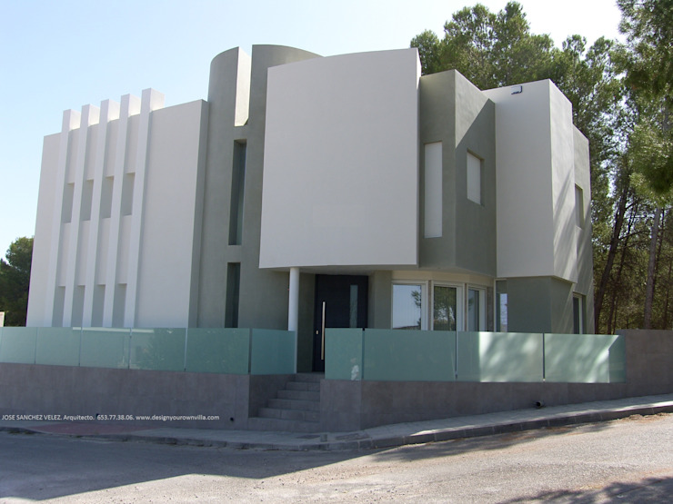 SALCE DYOV STUDIO Arquitectura, Concepto Passivhaus Mediterraneo 653 77 38 06 Villas Arenisca Blanco