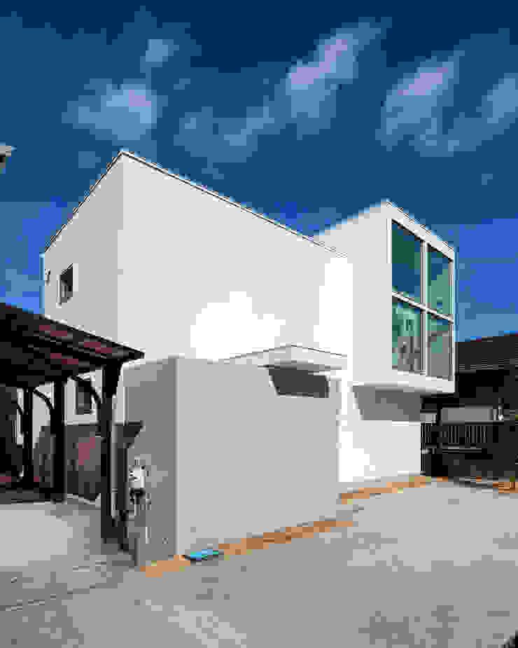 国分中央の住宅 アトリエ環 建築設計事務所 モダンな 家
