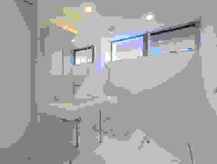 国分中央の住宅 アトリエ環 建築設計事務所 モダンスタイルの お風呂