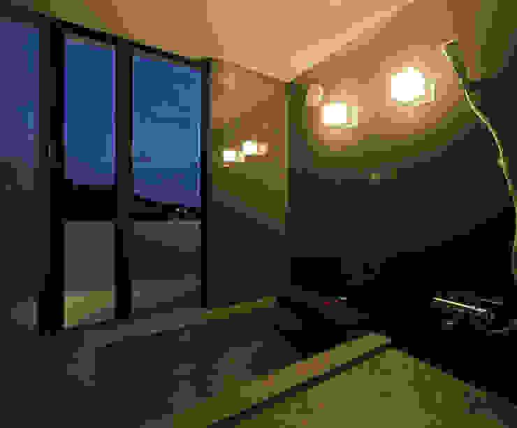 霧島の住宅 アトリエ環 建築設計事務所 モダンスタイルの お風呂