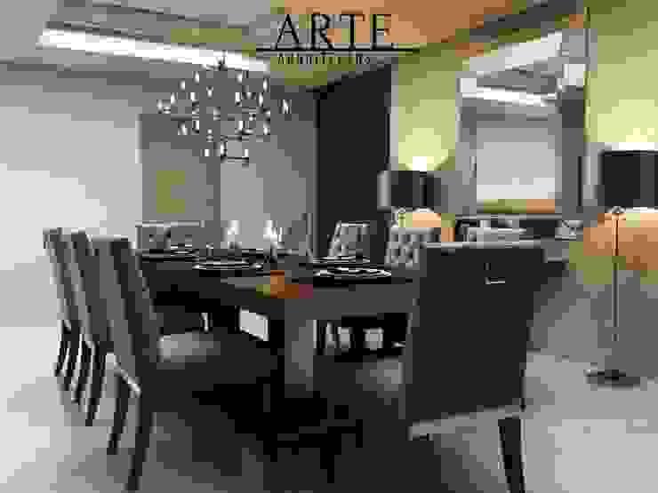 ARTE ARQUITECTOS Classic style dining room