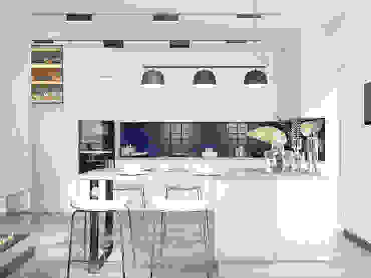 Легкий Лофт RENOIR Кухня в стиле лофт
