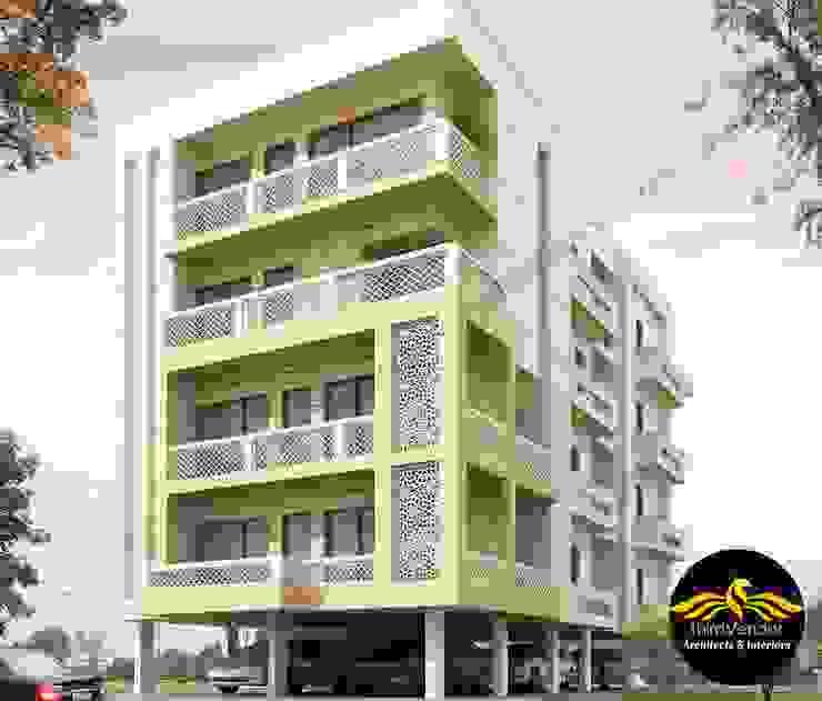 Apartment Design by ThirdVendor - Architects Classic Bricks