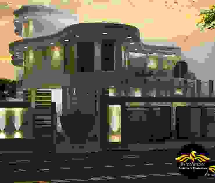 Villa at Barabanki - U.P by ThirdVendor - Architects Classic Bricks